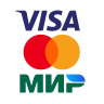 Оплата банковской картой (мгновенное зачисление)